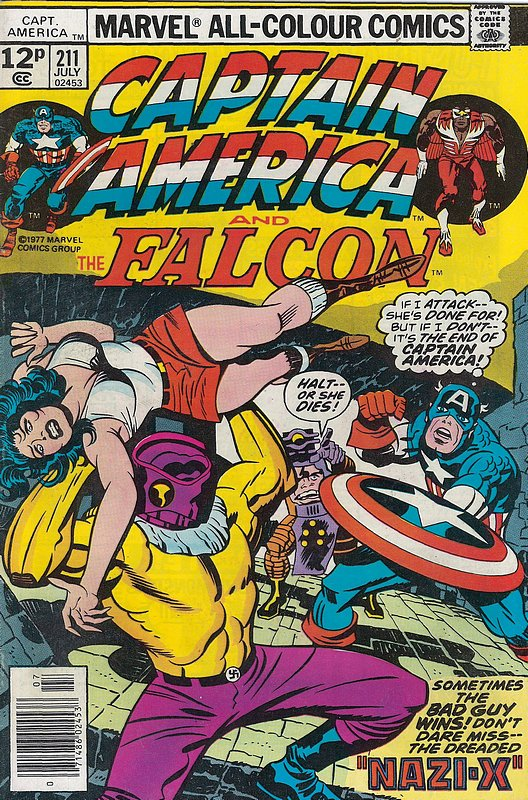 Cover of Captain America (Vol 1) #211. One of 250,000 Vintage American Comics on sale from Krypton!