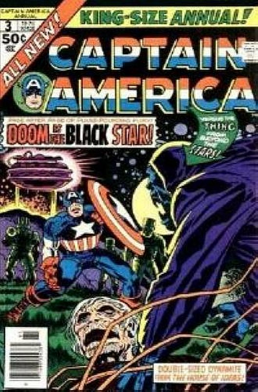 Cover of Captain America Annual #3. One of 250,000 Vintage American Comics on sale from Krypton!