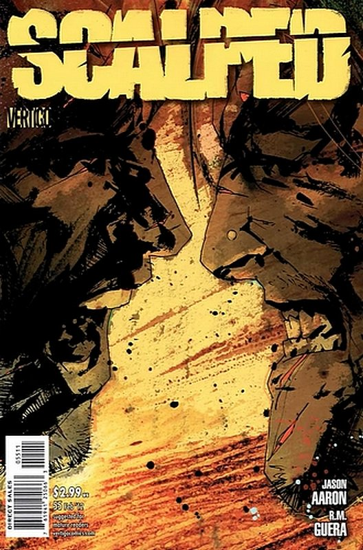 Cover of Scalped (Vol 1) #55. One of 250,000 Vintage American Comics on sale from Krypton!