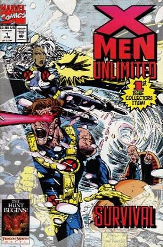 Cover of X-Men Unlimited (Vol 1) #1. One of 250,000 Vintage American Comics on sale from Krypton!