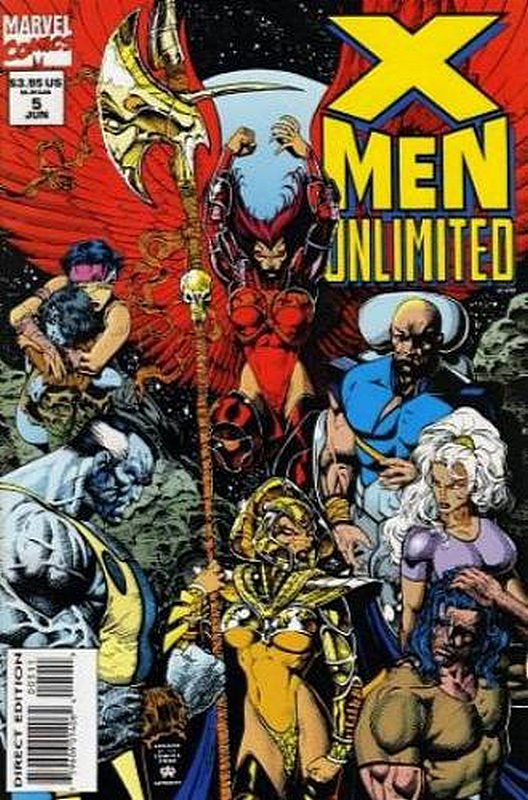 Cover of X-Men Unlimited (Vol 1) #5. One of 250,000 Vintage American Comics on sale from Krypton!