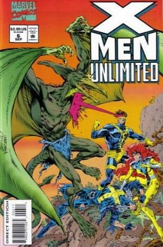 Cover of X-Men Unlimited (Vol 1) #6. One of 250,000 Vintage American Comics on sale from Krypton!