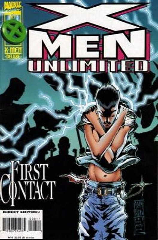Cover of X-Men Unlimited (Vol 1) #8. One of 250,000 Vintage American Comics on sale from Krypton!