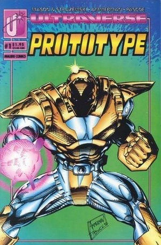 Cover of Prototype (Vol 1) (Malibu) #1. One of 250,000 Vintage American Comics on sale from Krypton!