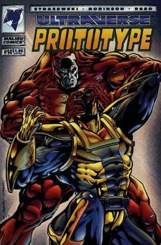 Cover of Prototype (Vol 1) (Malibu) #14. One of 250,000 Vintage American Comics on sale from Krypton!