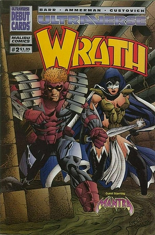 Cover of Wrath (Vol 1) #2. One of 250,000 Vintage American Comics on sale from Krypton!
