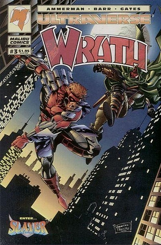 Cover of Wrath (Vol 1) #3. One of 250,000 Vintage American Comics on sale from Krypton!