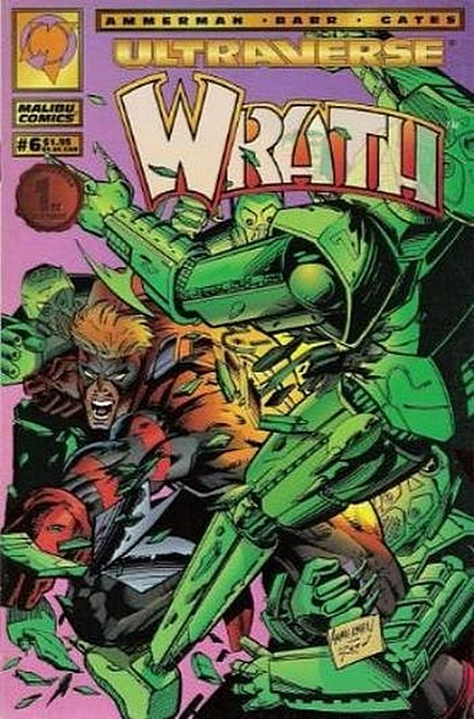 Cover of Wrath (Vol 1) #6. One of 250,000 Vintage American Comics on sale from Krypton!