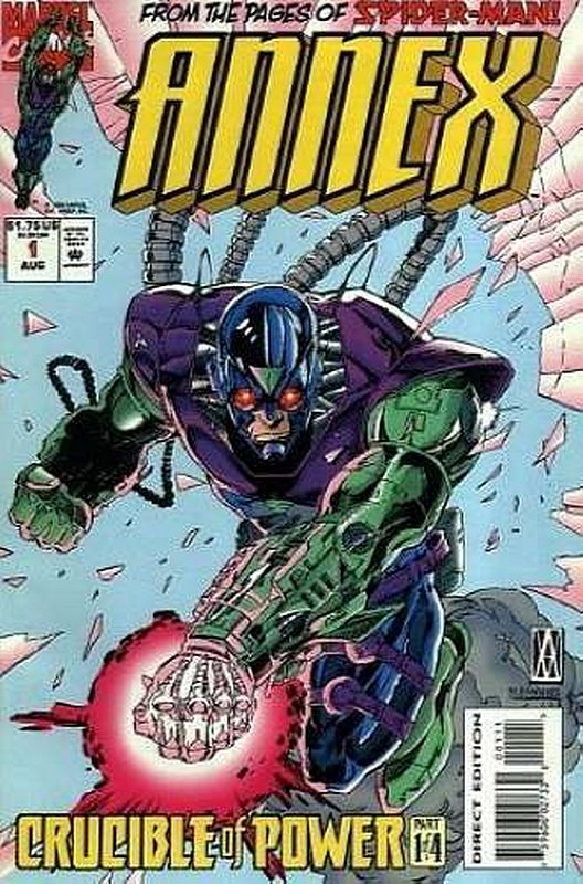 Cover of Annex (1994 Ltd) #1. One of 250,000 Vintage American Comics on sale from Krypton!