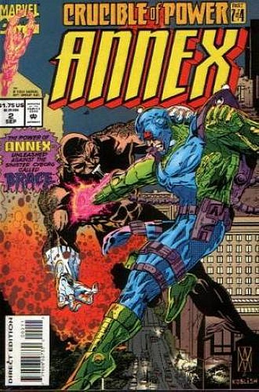 Cover of Annex (1994 Ltd) #2. One of 250,000 Vintage American Comics on sale from Krypton!