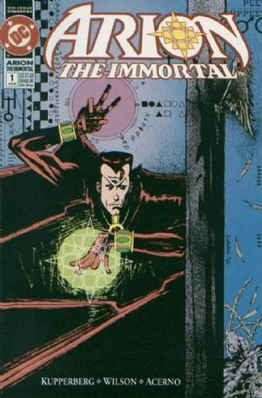 Cover of Arion The Immortal (1992 Ltd) #1. One of 250,000 Vintage American Comics on sale from Krypton!