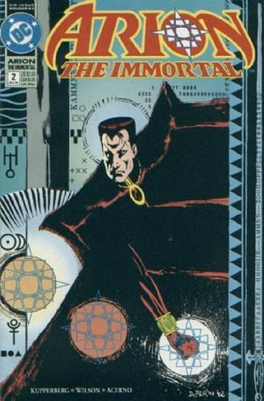 Cover of Arion The Immortal (1992 Ltd) #2. One of 250,000 Vintage American Comics on sale from Krypton!