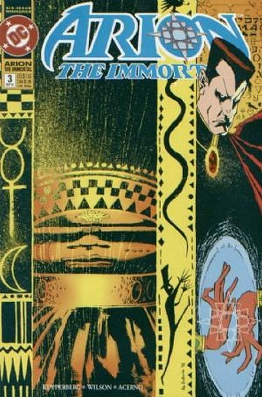 Cover of Arion The Immortal (1992 Ltd) #3. One of 250,000 Vintage American Comics on sale from Krypton!