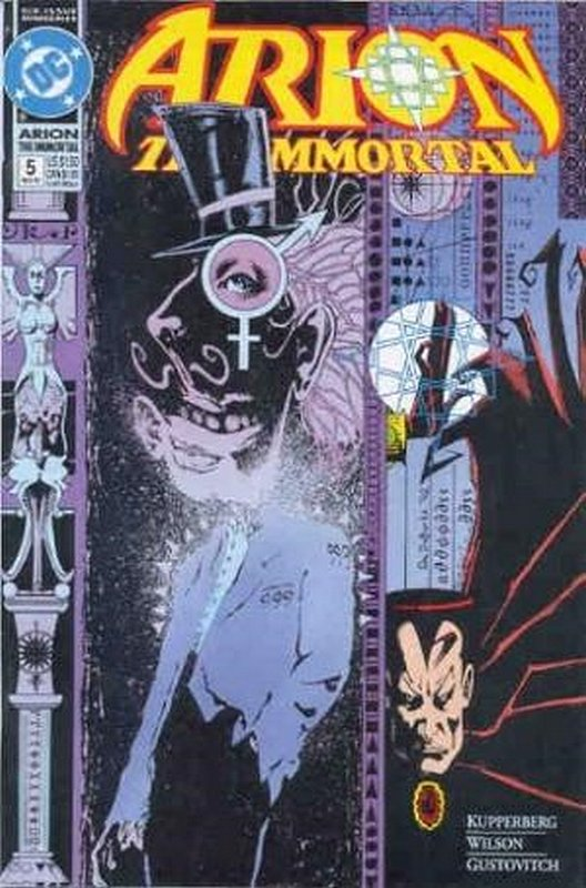 Cover of Arion The Immortal (1992 Ltd) #5. One of 250,000 Vintage American Comics on sale from Krypton!