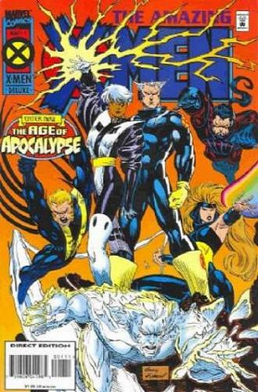 Cover of Amazing X-Men (1995 Ltd) #1. One of 250,000 Vintage American Comics on sale from Krypton!