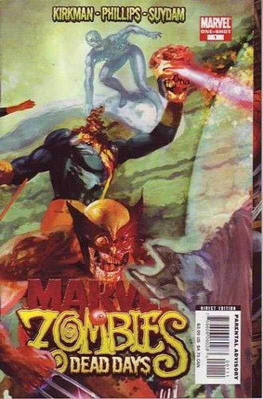 Cover of Marvel Zombies: Dead Days (2007 One Shot) #1. One of 250,000 Vintage American Comics on sale from Krypton!