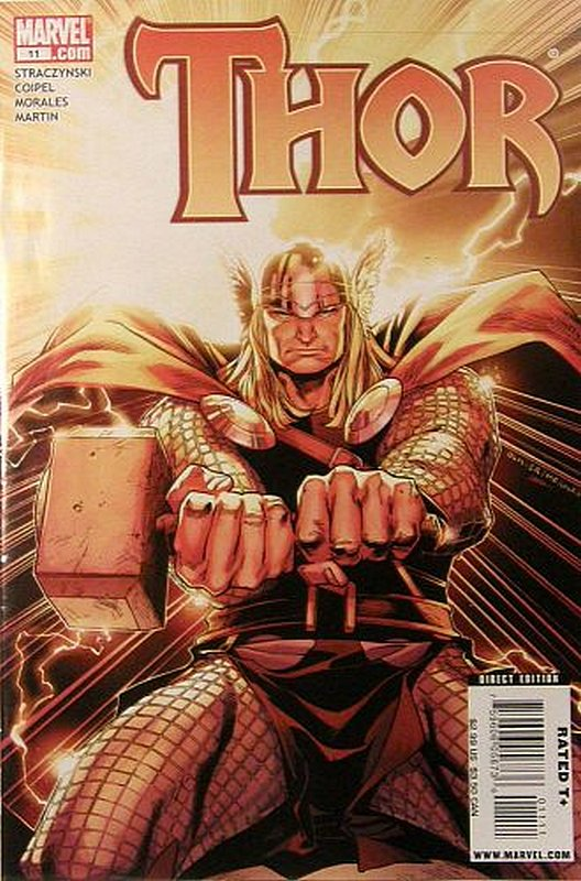 Cover of Thor (Vol 3) #11. One of 250,000 Vintage American Comics on sale from Krypton!