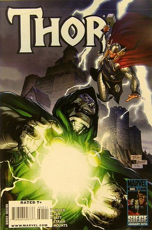 Cover of Thor (Vol 3) #605. One of 250,000 Vintage American Comics on sale from Krypton!
