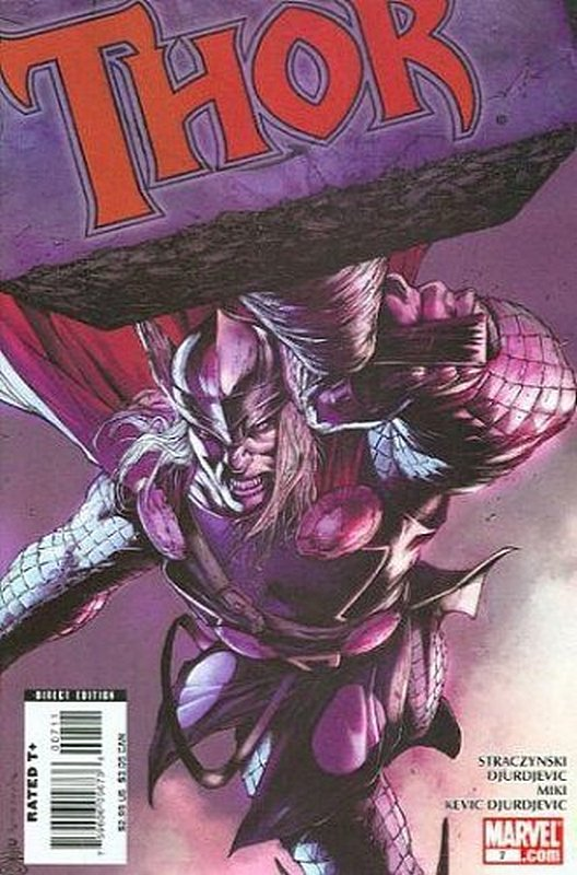 Cover of Thor (Vol 3) #7. One of 250,000 Vintage American Comics on sale from Krypton!