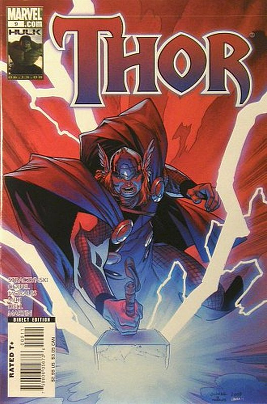Cover of Thor (Vol 3) #9. One of 250,000 Vintage American Comics on sale from Krypton!