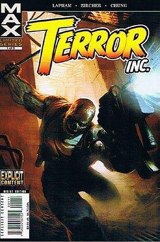 Cover of Terror Inc (2007 Ltd) #1. One of 250,000 Vintage American Comics on sale from Krypton!