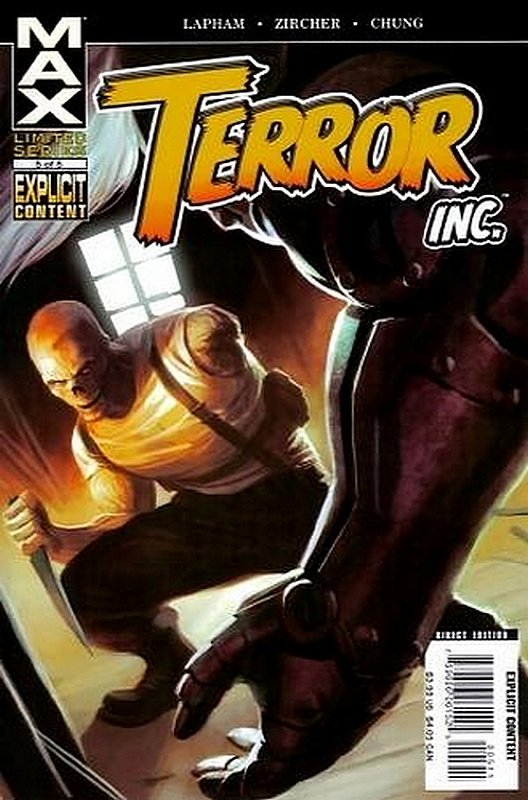 Cover of Terror Inc (2007 Ltd) #5. One of 250,000 Vintage American Comics on sale from Krypton!