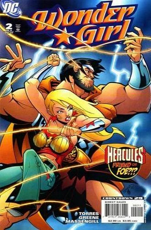 Cover of Wonder Girl (2007 Ltd) #2. One of 250,000 Vintage American Comics on sale from Krypton!
