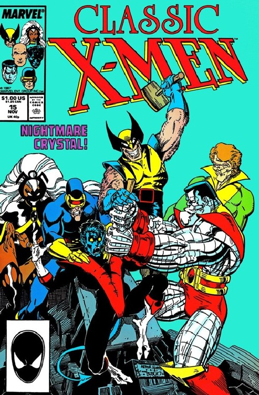 Cover of Classic X-Men #15. One of 250,000 Vintage American Comics on sale from Krypton!