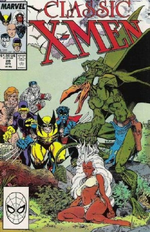 Cover of Classic X-Men #20. One of 250,000 Vintage American Comics on sale from Krypton!