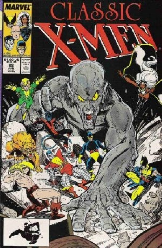 Cover of Classic X-Men #22. One of 250,000 Vintage American Comics on sale from Krypton!
