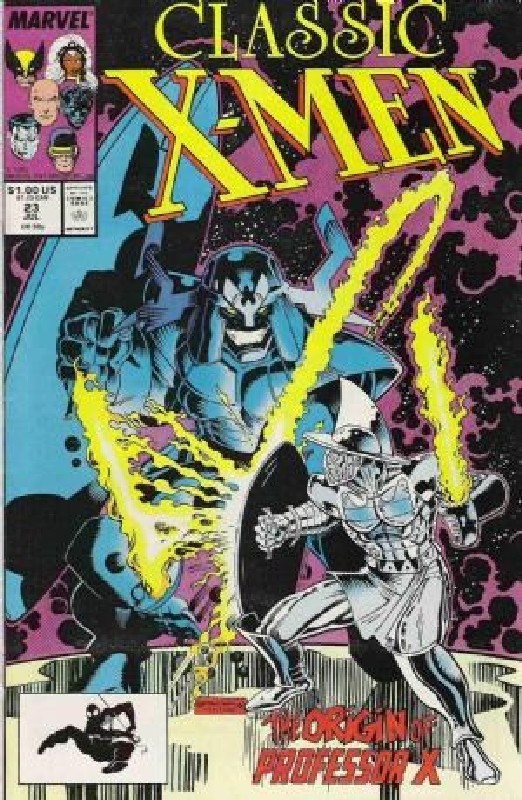 Cover of Classic X-Men #23. One of 250,000 Vintage American Comics on sale from Krypton!