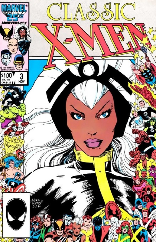 Cover of Classic X-Men #3. One of 250,000 Vintage American Comics on sale from Krypton!
