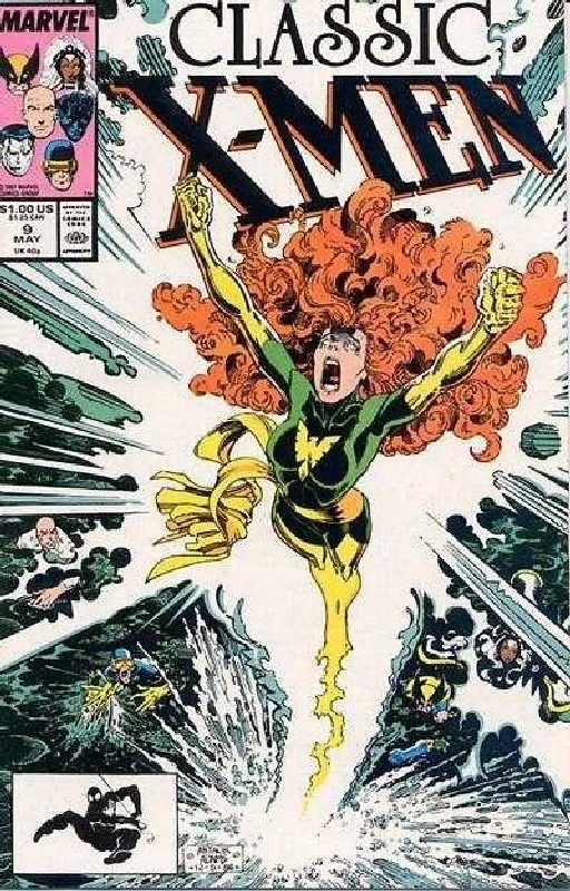 Cover of Classic X-Men #9. One of 250,000 Vintage American Comics on sale from Krypton!
