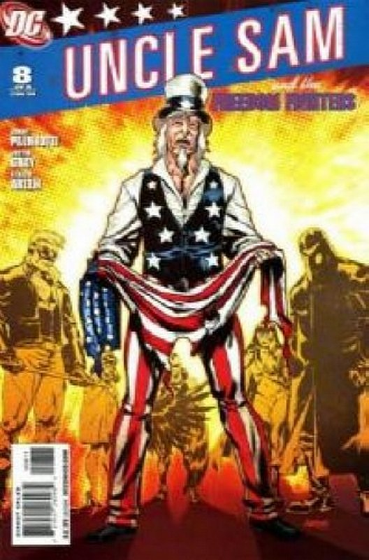 Cover of Uncle Sam & The Freedom Fighters (Vol 2) #8. One of 250,000 Vintage American Comics on sale from Krypton!