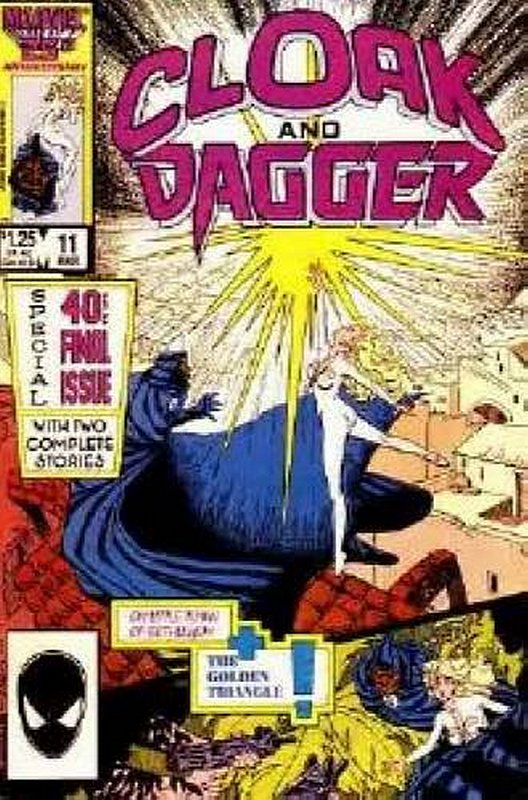 Cover of Cloak & Dagger (Vol 1) #11. One of 250,000 Vintage American Comics on sale from Krypton!