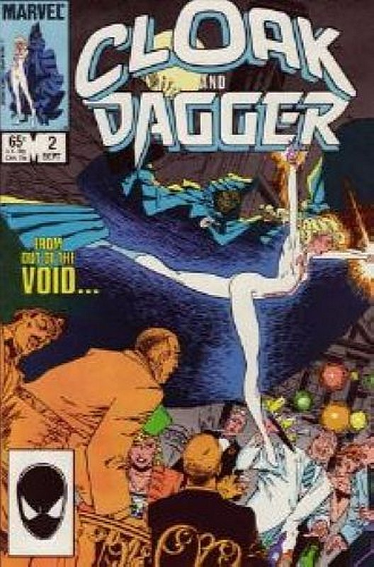 Cover of Cloak & Dagger (Vol 1) #2. One of 250,000 Vintage American Comics on sale from Krypton!