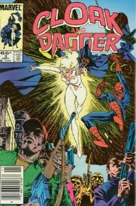 Cover of Cloak & Dagger (Vol 1) #3. One of 250,000 Vintage American Comics on sale from Krypton!