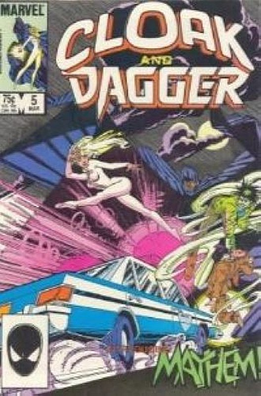 Cover of Cloak & Dagger (Vol 1) #5. One of 250,000 Vintage American Comics on sale from Krypton!