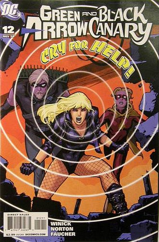 Cover of Green Arrow/Black Canary #12. One of 250,000 Vintage American Comics on sale from Krypton!