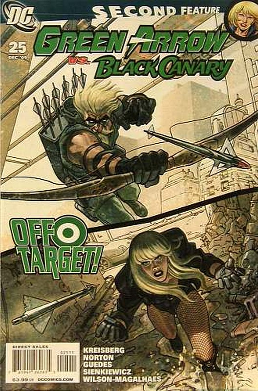 Cover of Green Arrow/Black Canary #25. One of 250,000 Vintage American Comics on sale from Krypton!