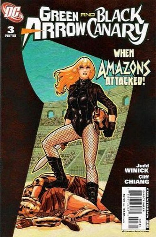 Cover of Green Arrow/Black Canary #3. One of 250,000 Vintage American Comics on sale from Krypton!