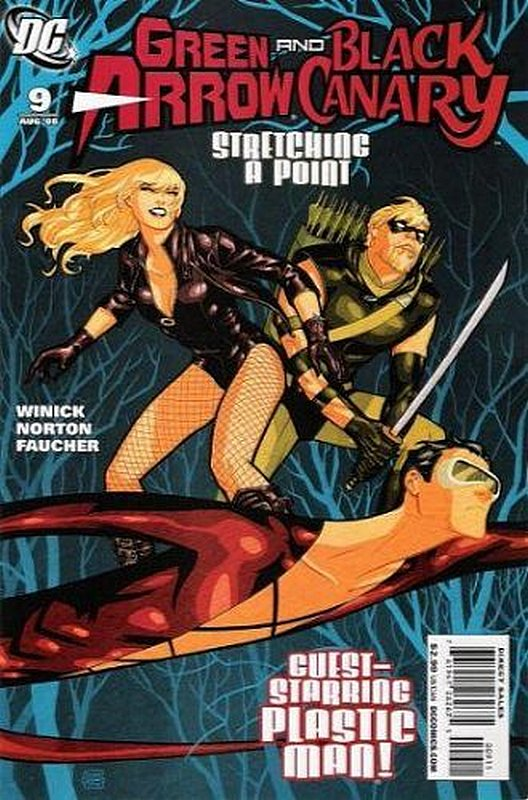 Cover of Green Arrow/Black Canary #9. One of 250,000 Vintage American Comics on sale from Krypton!