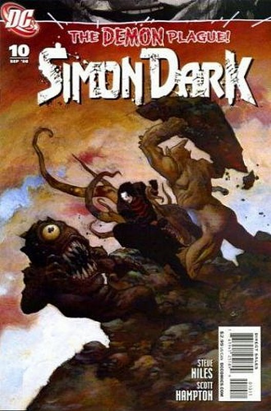 Cover of Simon Dark (Vol 1) #10. One of 250,000 Vintage American Comics on sale from Krypton!