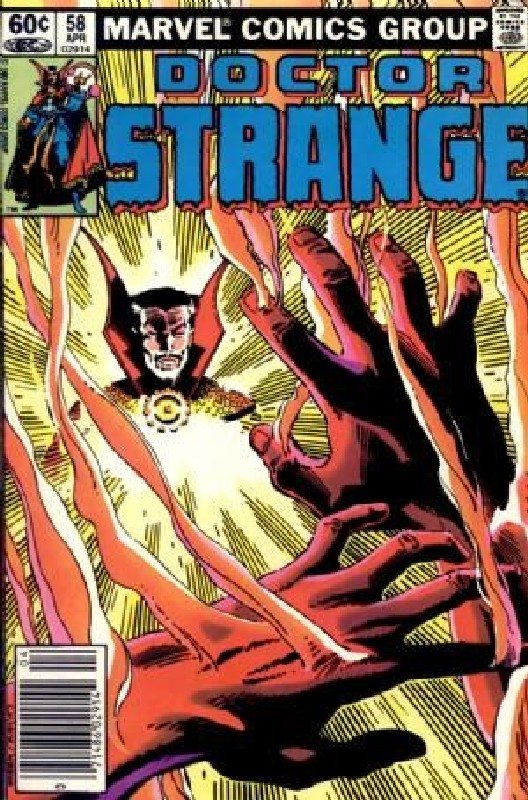 Cover of Doctor Strange (Vol 2) #58. One of 250,000 Vintage American Comics on sale from Krypton!