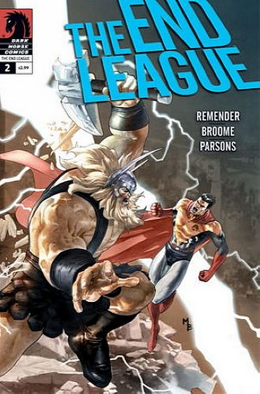 Cover of End League (Vol 1) #2. One of 250,000 Vintage American Comics on sale from Krypton!