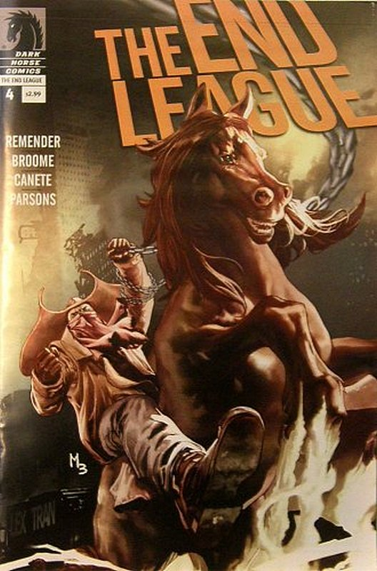 Cover of End League (Vol 1) #4. One of 250,000 Vintage American Comics on sale from Krypton!
