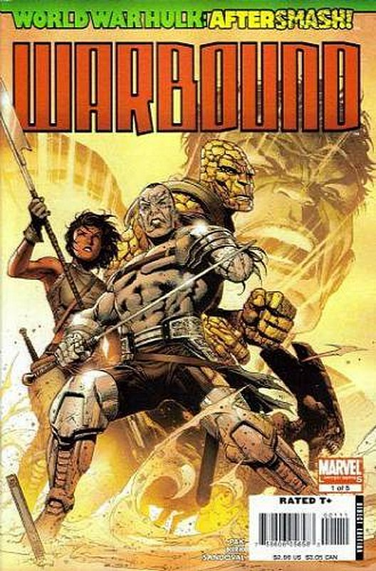 Cover of World War Hulk: Warbound (2008 Ltd) #1. One of 250,000 Vintage American Comics on sale from Krypton!