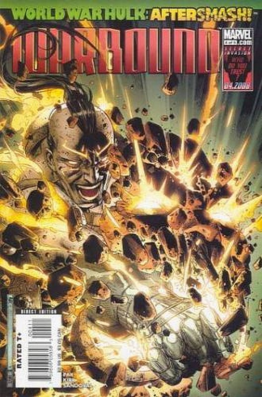 Cover of World War Hulk: Warbound (2008 Ltd) #4. One of 250,000 Vintage American Comics on sale from Krypton!