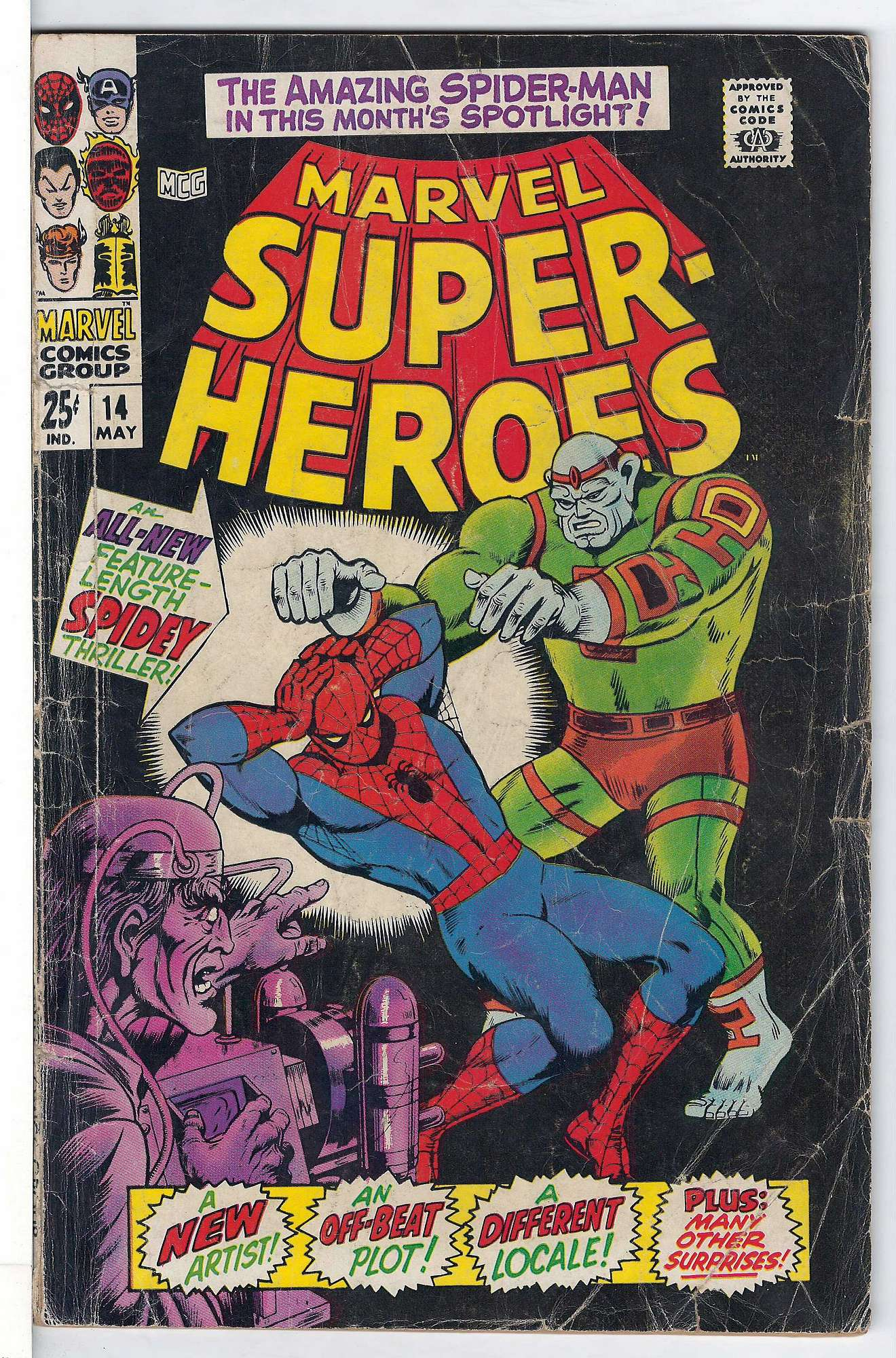 Cover of Marvel Super-Heroes (Vol 1) #14. One of 250,000 Vintage American Comics on sale from Krypton!