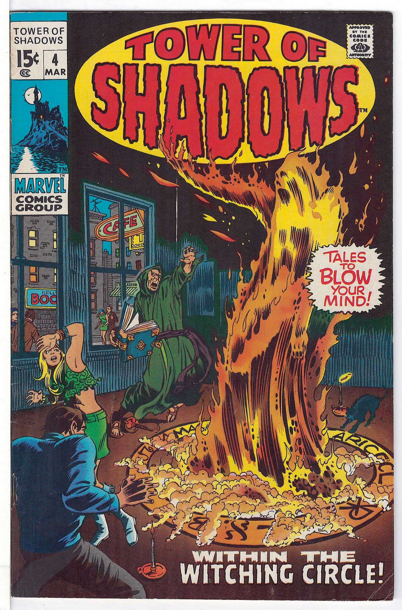 Cover of Tower of Shadows (Vol 1) #4. One of 250,000 Vintage American Comics on sale from Krypton!